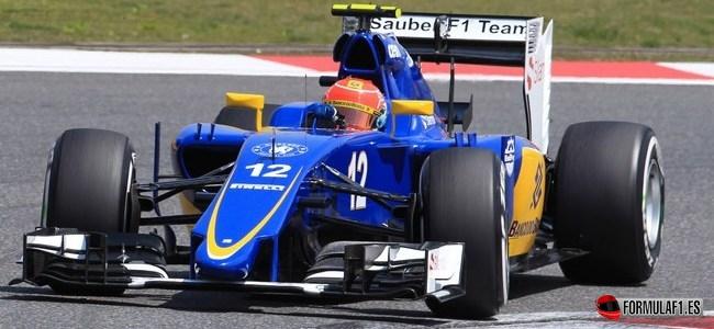 Felipe Nasr, Sauber, GP China 2015