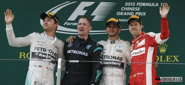 Lewis Hamilton, Mercedes, GP China 2015