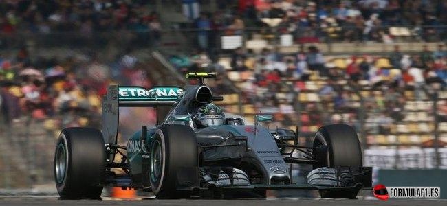 Nico Rosberg, Mercedes, GP China 2015