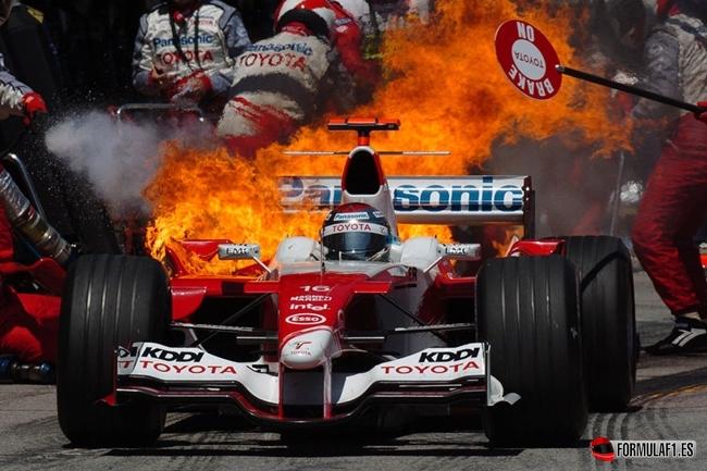 2005, F1 Toyota, Jarno Trulli