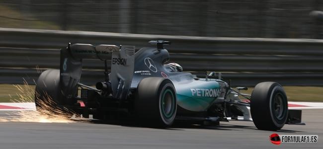 Formel 1 - MERCEDES AMG PETRONAS, Großer Preis von China. 10.-12.04.2015. Lewis Hamilton