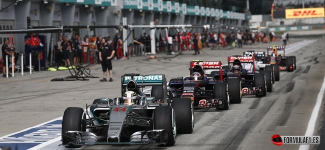 Formel 1 - MERCEDES AMG PETRONAS, Großer Preis von Malaysia. 27.-29.03.2015. Lewis Hamilton