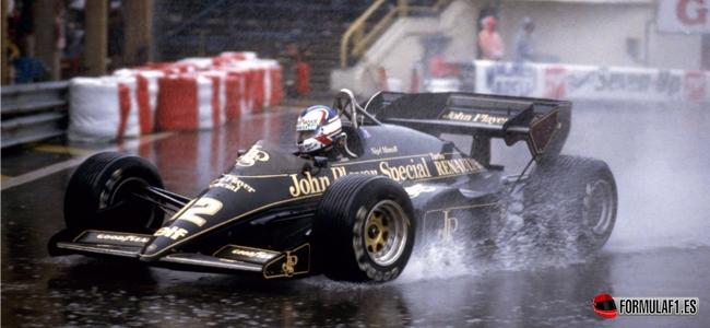 Mansell, mónaco, 1984