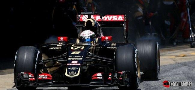 Romain Grosjean, Lotus, GP España 2015