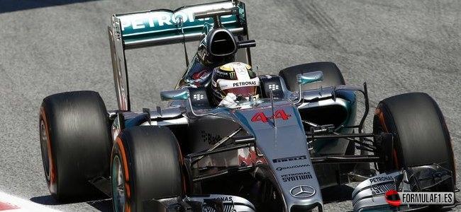 Lewis Hamilton, Mercedes, GP España 2015