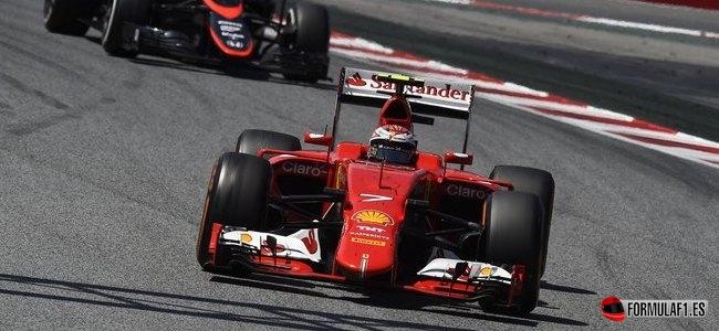 Kimi Räikkönen, Ferrari, GP España 2015