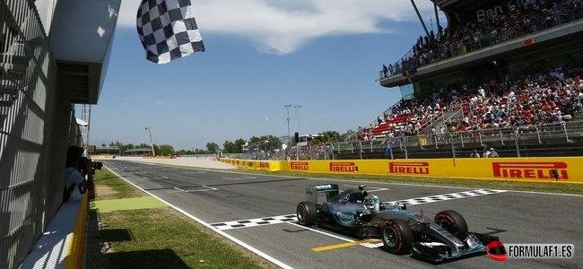 Nico Rosberg, Mercedes, GP España 2015