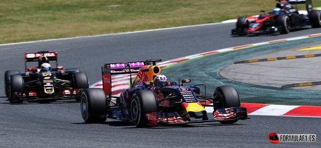 Daniel Ricciardo, Red Bull, GP España 2015