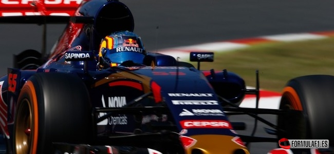 Carlos Sainz, Toro Rosso, GP España 2015