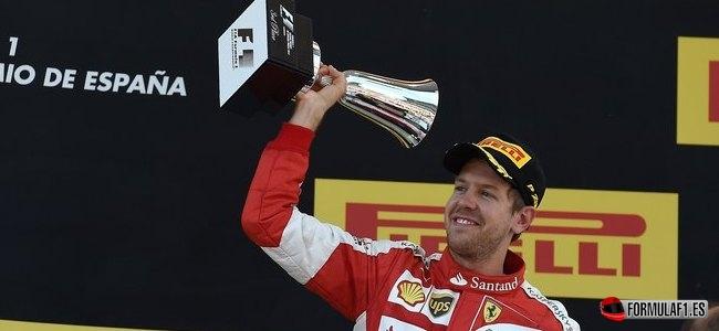 Sebastian Vettel, Ferrari, GP España 2015
