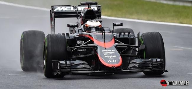 Test austria McLaren