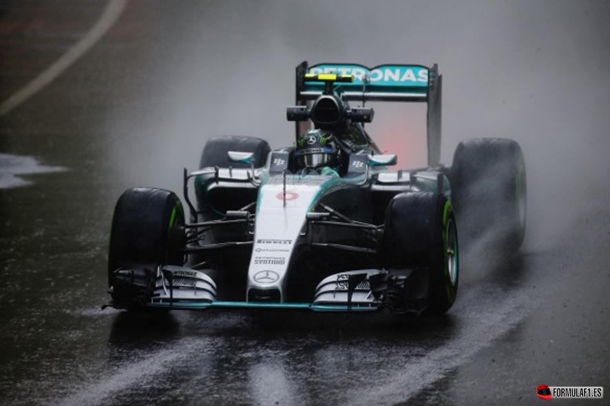 Circuit Gilles Villeneuve, Montreal, Canada. Friday 05 June 2015. Nico Rosberg, Mercedes F1 W06 Hybrid.  World Copyright: Glenn Dunbar/LAT Photographic. ref: Digital Image _89P7054