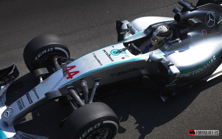 Hamilton consigue la victoria del GP Bélgica 2015