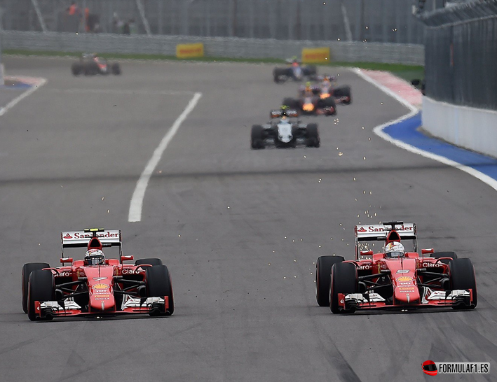 GP. de Rusia 2015: Lewis Hamilton vence y sentencia