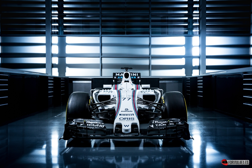 January 2015 The Williams FW38 Photo: Williams F1 ref: Digital Image WS8A8558