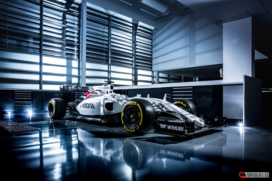January 2015 The Williams FW38 Photo: Williams F1 ref: Digital Image WS8A8530