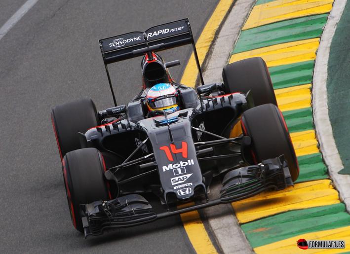 Alonso. Calificación GP de Australia 2016