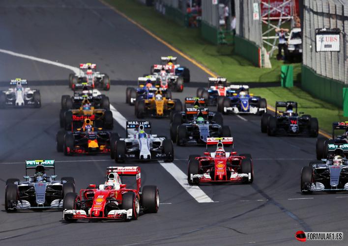 Salida GP Australia 2016