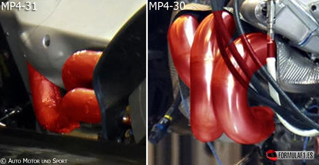 mp4-31-exhaust