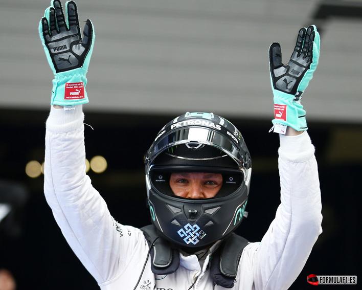 Rosberg logra la victoria. GP China 2016