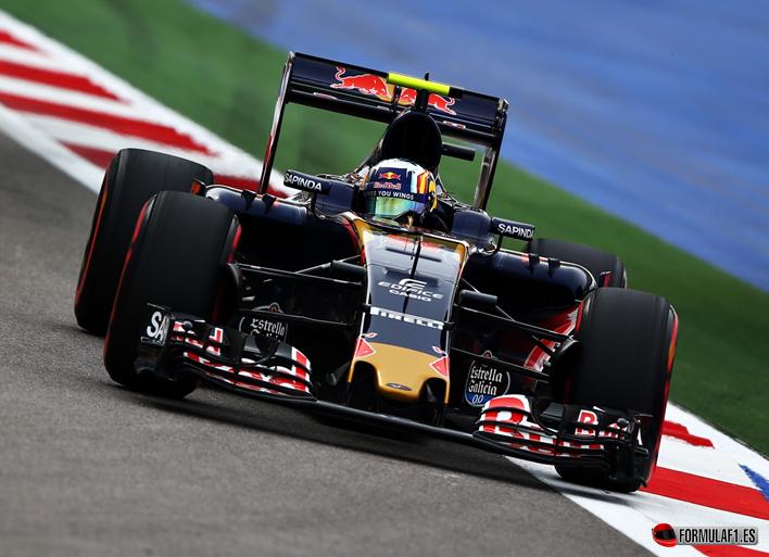 Sainz. Calificación GP de Rusia 2016