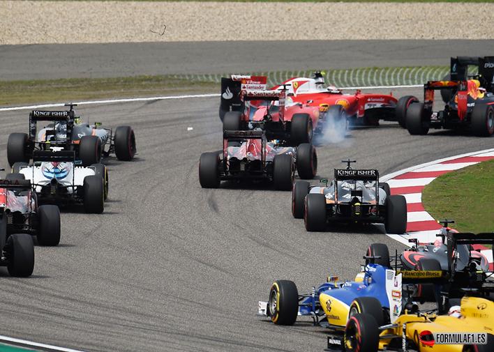 Salida GP de China 2016