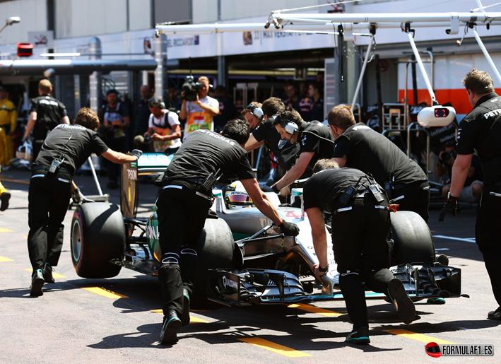 Hamilton. Calificación GP Mónaco 2016