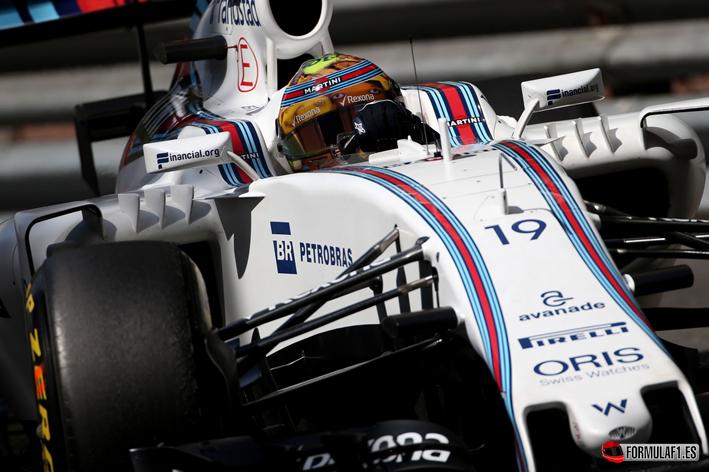 Massa. Calificación GP de Mónaco 2016