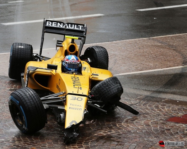 Palmer. GP Mónaco 2016