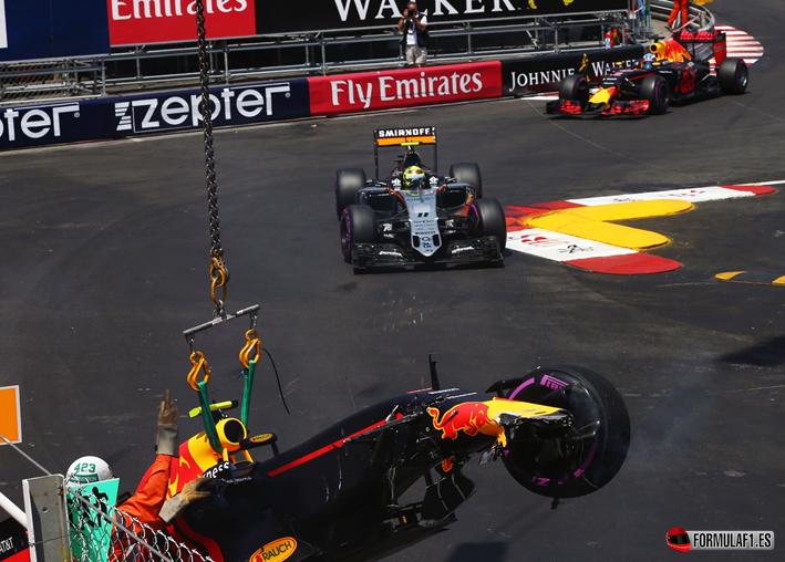 Verstappen. Calificación GP de Mónaco 2016