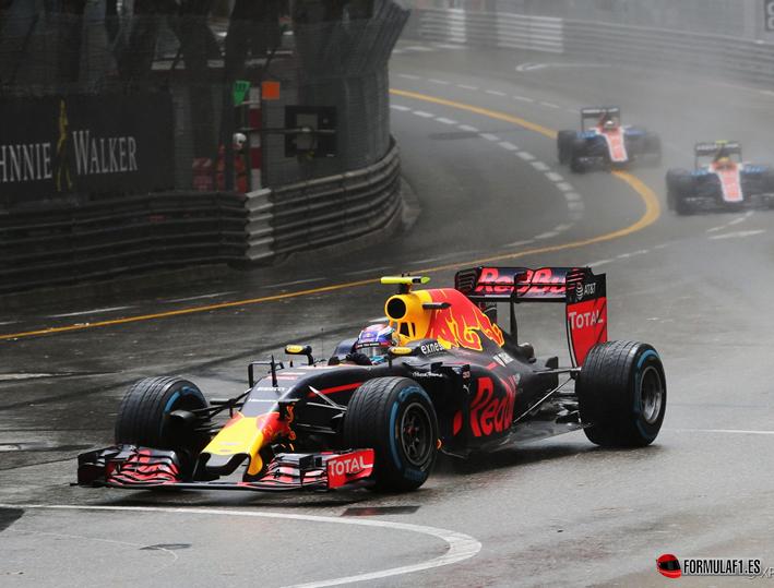 Verstappen. GP Mónaco 2016