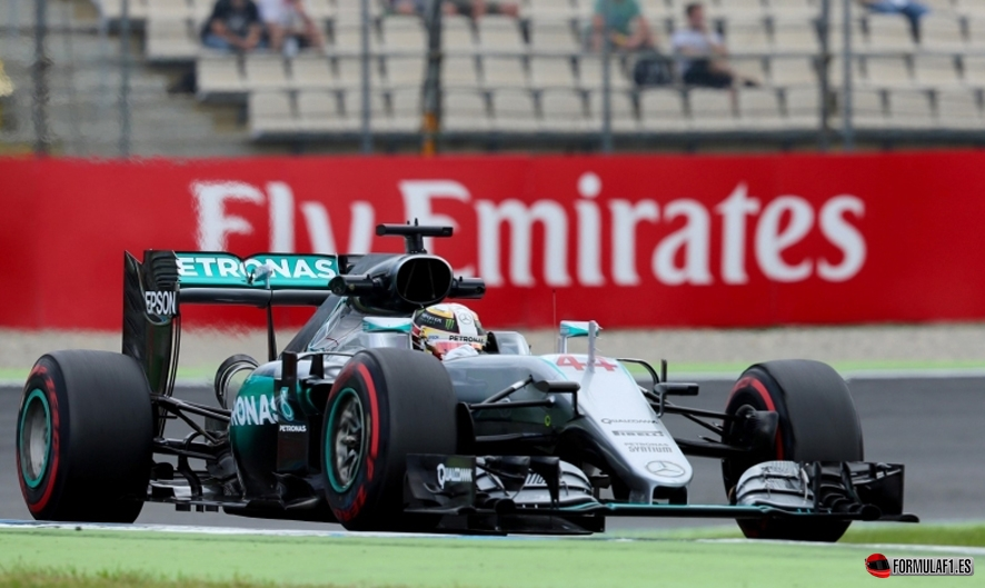 GP de Alemania 2016 – Libres 2: Rosberg supera a Hamilton por cuatro décimas