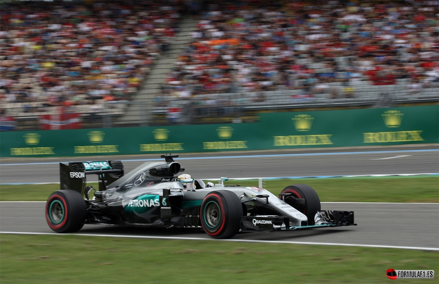 GP de Alemania 2016 – Libres 3: Sigue el dominio de Mercedes ante el pulso entre Ferrari y Red Bull