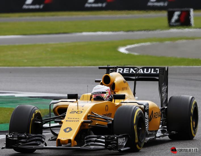 Magnussen. Calificación GP de Gran Bretaña 2016