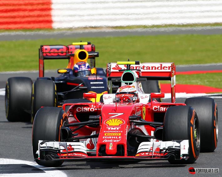 Raikkonen. Calificación GP de Gran Bretaña 2016