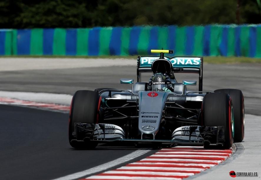 Rosberg budapest fp1