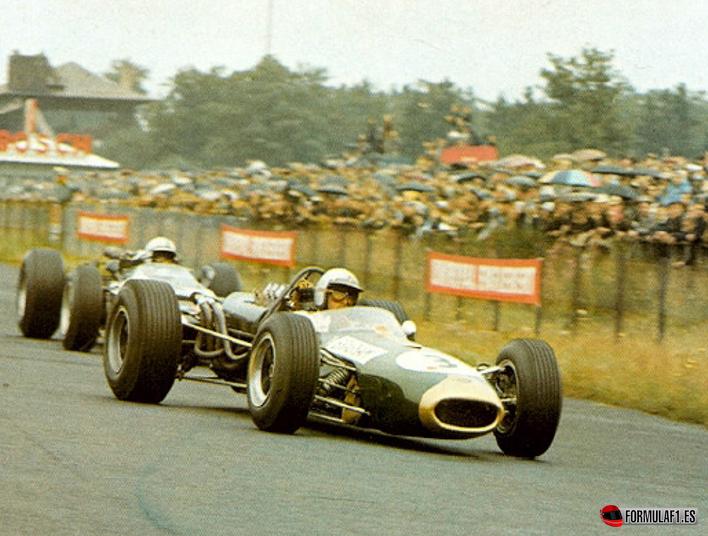 Brabham y Surtees. GP Alemania 1966