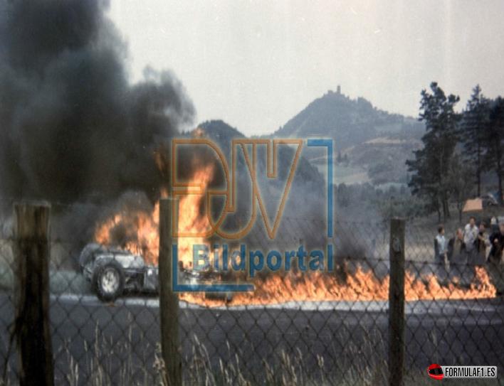 Fatídico accidente de Taylor. GP Alemania 1966