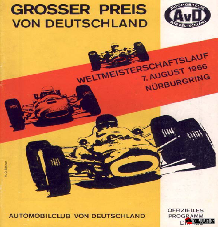 Grand Prix de Alemania 1966
