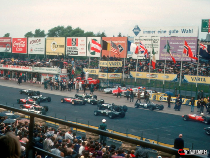 Salida. GP Alemania 1966