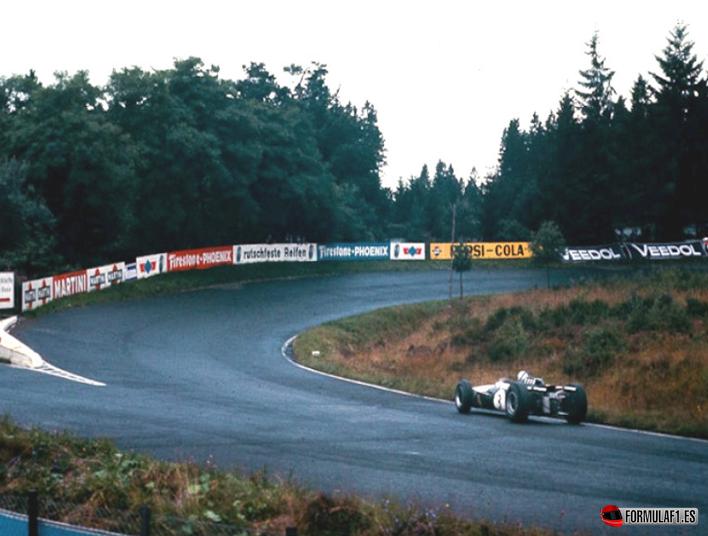 Victoria de Brabham. GP Alemania 1966