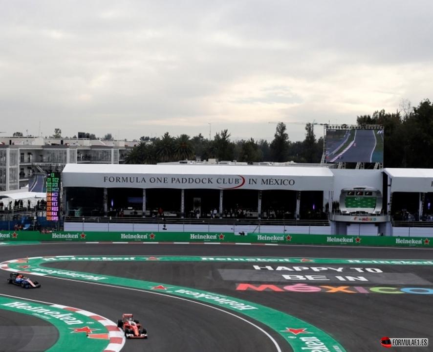 GP de México 2016 – Libres 1: Lewis Hamilton bate a los Ferrari por 8 centésimas