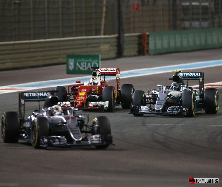 GP de Abu dabi 2016: carrera para Hamilton...corona para Rosberg