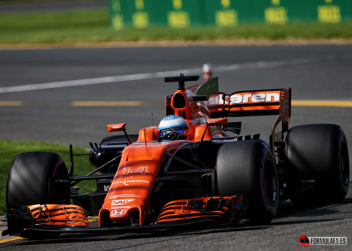 Alonso. Calificación GP de Autralia 2017