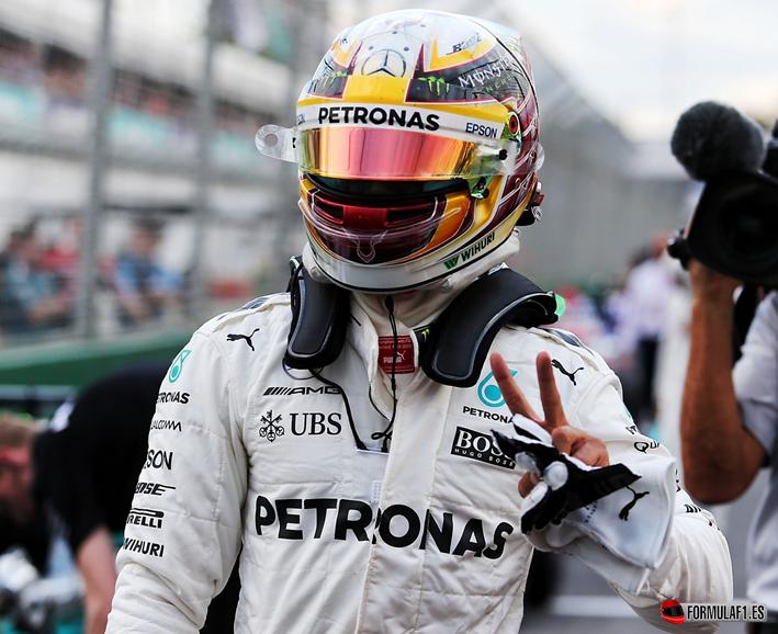 Hamilton consigue la Pole del GP de Australia 2017