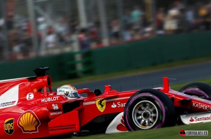 Vettel. Calificación GP de Autralia 2017