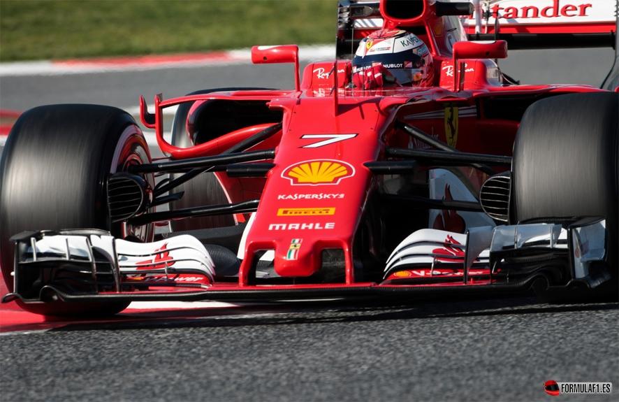 Finalizan los test de Montmeló con Räikkönen y Ferrari en cabeza