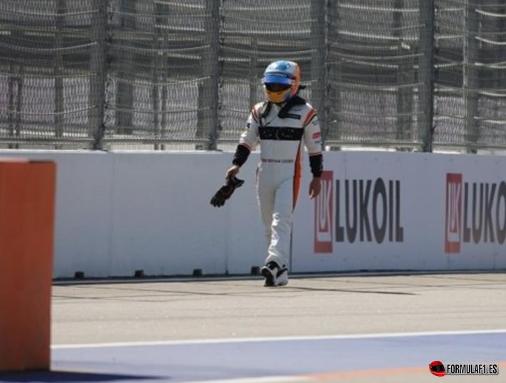 Alonso. GP de Rusia 2017