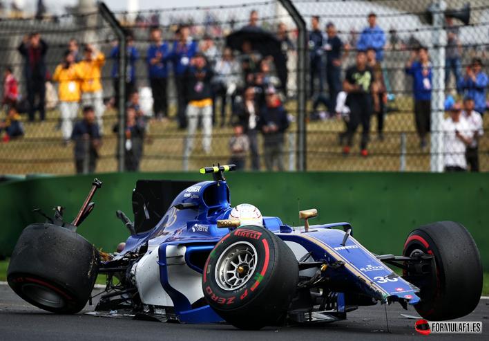 Giovinazzi. Calificación GP de China 2017