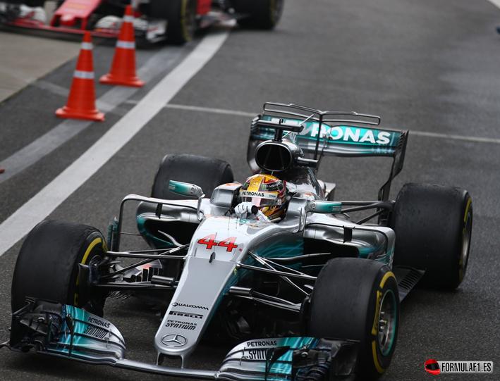 Hamilton logra la victoria. GP de China 2017